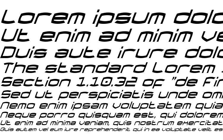 specimens Thundergod Condensed Italic font, sample Thundergod Condensed Italic font, an example of writing Thundergod Condensed Italic font, review Thundergod Condensed Italic font, preview Thundergod Condensed Italic font, Thundergod Condensed Italic font