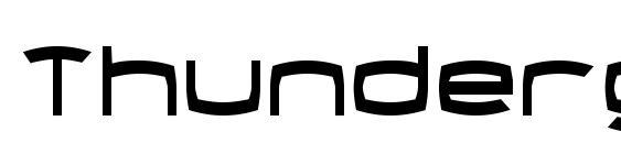 Thundergod Condensed Font
