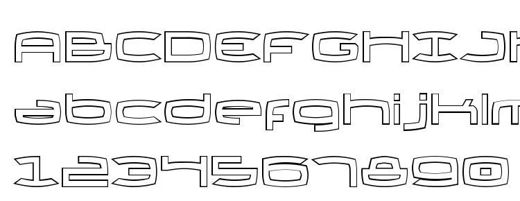 glyphs Thundergod II Outline font, сharacters Thundergod II Outline font, symbols Thundergod II Outline font, character map Thundergod II Outline font, preview Thundergod II Outline font, abc Thundergod II Outline font, Thundergod II Outline font