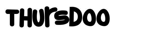 Thursdoo Font