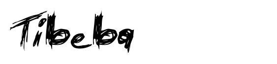 Шрифт Tibeba