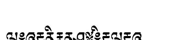 Шрифт TibetanMachineWeb