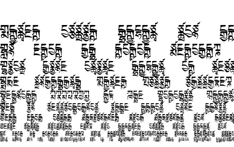 образцы шрифта TibetanMachineWeb2, образец шрифта TibetanMachineWeb2, пример написания шрифта TibetanMachineWeb2, просмотр шрифта TibetanMachineWeb2, предосмотр шрифта TibetanMachineWeb2, шрифт TibetanMachineWeb2