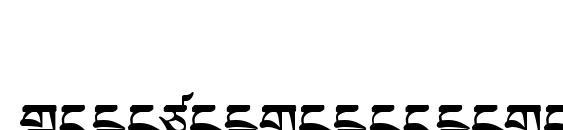 TibetanMachineWeb2 Font