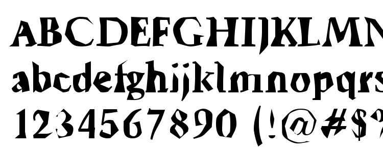 glyphs Tickyfon font, сharacters Tickyfon font, symbols Tickyfon font, character map Tickyfon font, preview Tickyfon font, abc Tickyfon font, Tickyfon font