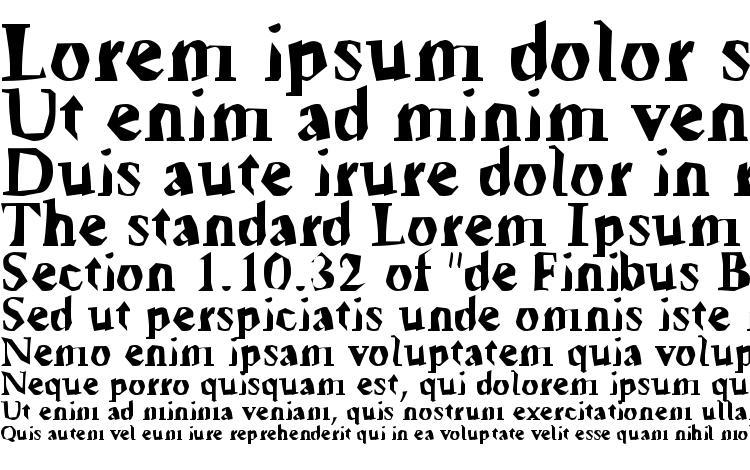 specimens Tickyfon font, sample Tickyfon font, an example of writing Tickyfon font, review Tickyfon font, preview Tickyfon font, Tickyfon font