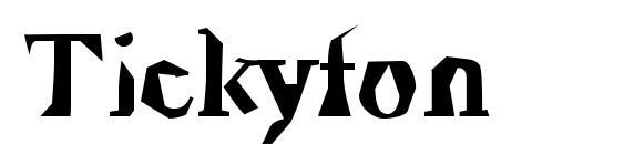 Tickyfon Font