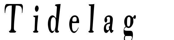 Tidelag Font