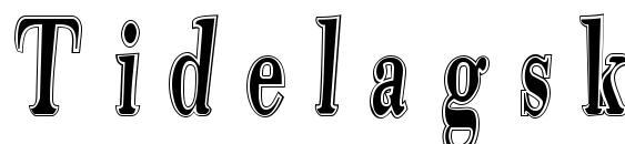 Tidelagskoprofag Font