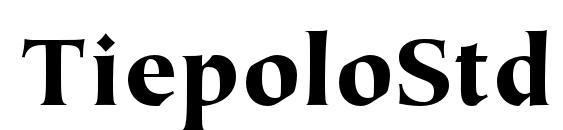 Шрифт TiepoloStd Black