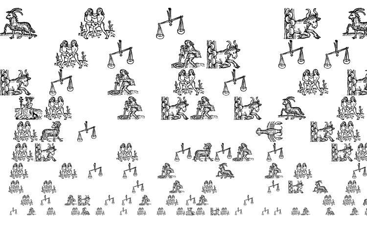 specimens Tierkreis 3 font, sample Tierkreis 3 font, an example of writing Tierkreis 3 font, review Tierkreis 3 font, preview Tierkreis 3 font, Tierkreis 3 font