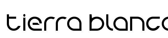 Шрифт Tierra Blanca