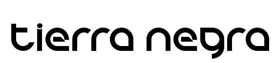 Шрифт Tierra Negra