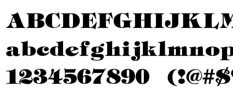 глифы шрифта Tiff Heavy, символы шрифта Tiff Heavy, символьная карта шрифта Tiff Heavy, предварительный просмотр шрифта Tiff Heavy, алфавит шрифта Tiff Heavy, шрифт Tiff Heavy