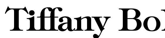 Шрифт Tiffany Bold