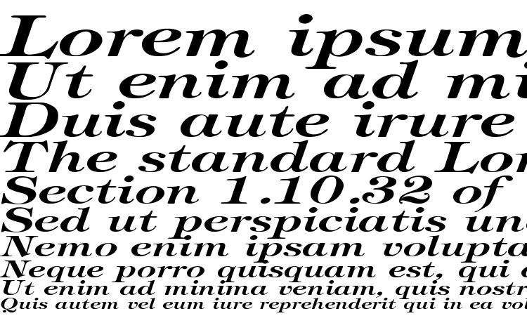 specimens Tiffany BoldItalic Ex font, sample Tiffany BoldItalic Ex font, an example of writing Tiffany BoldItalic Ex font, review Tiffany BoldItalic Ex font, preview Tiffany BoldItalic Ex font, Tiffany BoldItalic Ex font