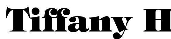 Шрифт Tiffany Heavy BT