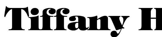 Tiffany Heavy Normal font, free Tiffany Heavy Normal font, preview Tiffany Heavy Normal font