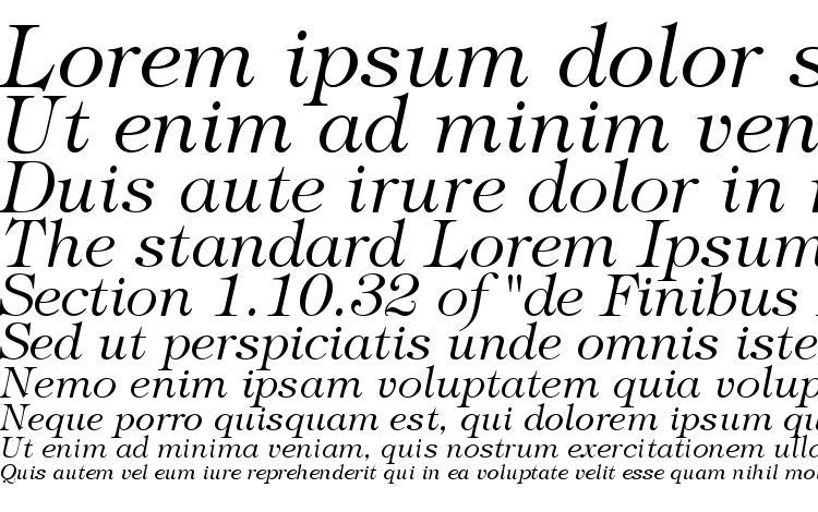 specimens Tiffany Light Italic BT font, sample Tiffany Light Italic BT font, an example of writing Tiffany Light Italic BT font, review Tiffany Light Italic BT font, preview Tiffany Light Italic BT font, Tiffany Light Italic BT font