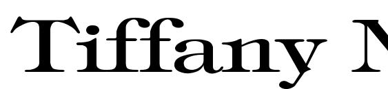 Tiffany Normal Wd Font