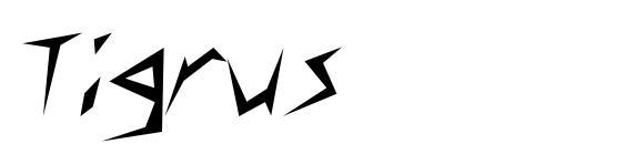 Шрифт Tigrus