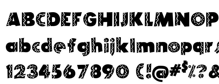 glyphs Tijuana Medium font, сharacters Tijuana Medium font, symbols Tijuana Medium font, character map Tijuana Medium font, preview Tijuana Medium font, abc Tijuana Medium font, Tijuana Medium font