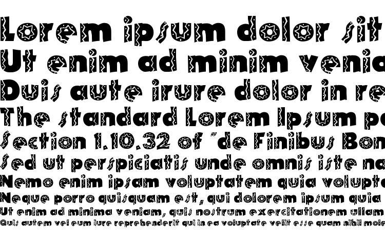 specimens Tijuana Medium font, sample Tijuana Medium font, an example of writing Tijuana Medium font, review Tijuana Medium font, preview Tijuana Medium font, Tijuana Medium font