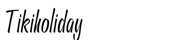 Tikiholiday font, free Tikiholiday font, preview Tikiholiday font