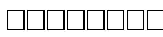 Шрифт Tilt regular