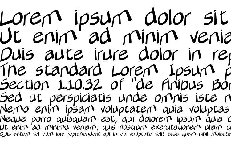 specimens Tilter lite font, sample Tilter lite font, an example of writing Tilter lite font, review Tilter lite font, preview Tilter lite font, Tilter lite font