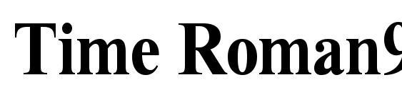Time Roman90b Font