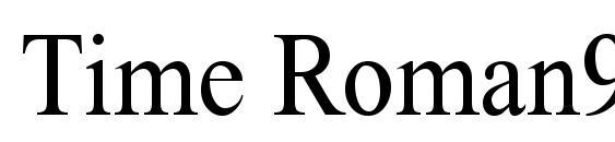 Time Roman90n Font