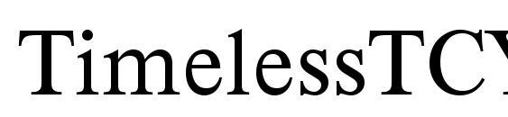 Шрифт TimelessTCYLig