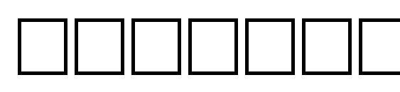 Timer regular Font