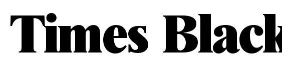 шрифт Times Black, бесплатный шрифт Times Black, предварительный просмотр шрифта Times Black