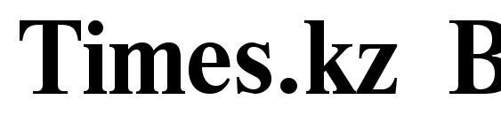 Times.kz Bold Font