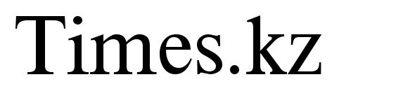 шрифт Times.kz, бесплатный шрифт Times.kz, предварительный просмотр шрифта Times.kz