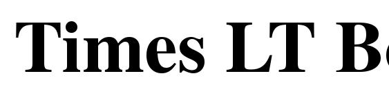 Times LT Bold Font
