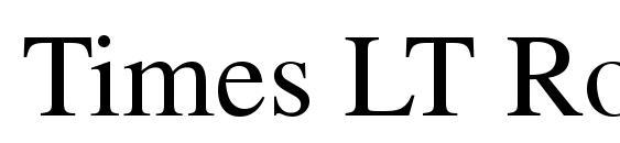 Шрифт Times LT Roman