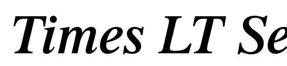 Times LT Semibold Italic Font
