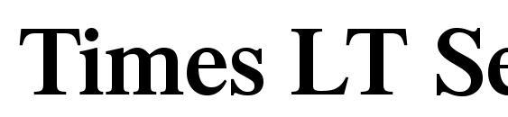Шрифт Times LT Semibold