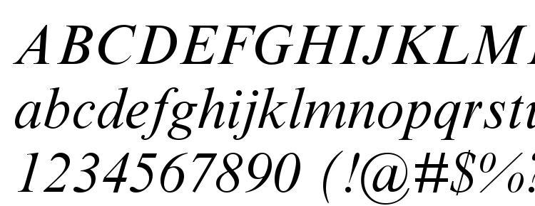 глифы шрифта Times New Roman Cyr Italic, символы шрифта Times New Roman Cyr Italic, символьная карта шрифта Times New Roman Cyr Italic, предварительный просмотр шрифта Times New Roman Cyr Italic, алфавит шрифта Times New Roman Cyr Italic, шрифт Times New Roman Cyr Italic