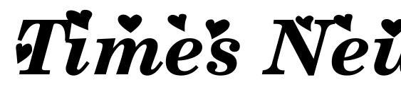 Шрифт Times New Romance