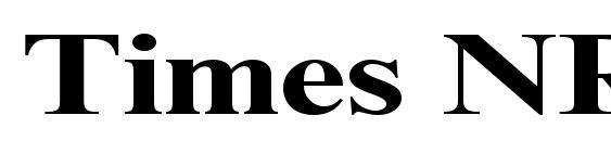 Times NR Cyr MT 130b Font