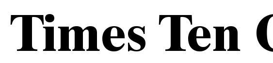 Times Ten CE Bold Font