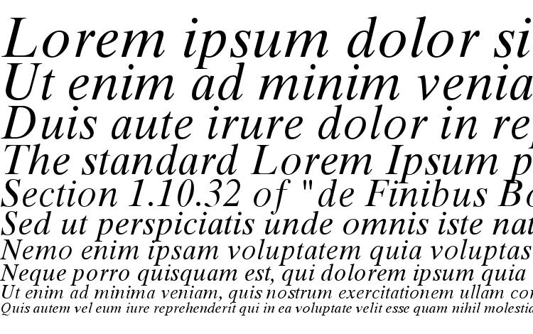 specimens Times Ten Greek Inclined font, sample Times Ten Greek Inclined font, an example of writing Times Ten Greek Inclined font, review Times Ten Greek Inclined font, preview Times Ten Greek Inclined font, Times Ten Greek Inclined font