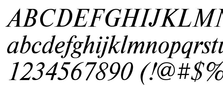 глифы шрифта TimesDL Italic, символы шрифта TimesDL Italic, символьная карта шрифта TimesDL Italic, предварительный просмотр шрифта TimesDL Italic, алфавит шрифта TimesDL Italic, шрифт TimesDL Italic