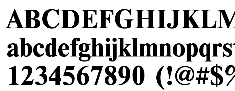 глифы шрифта TimesET Bold, символы шрифта TimesET Bold, символьная карта шрифта TimesET Bold, предварительный просмотр шрифта TimesET Bold, алфавит шрифта TimesET Bold, шрифт TimesET Bold