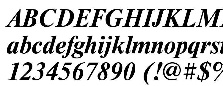 глифы шрифта Timeset bolditalic, символы шрифта Timeset bolditalic, символьная карта шрифта Timeset bolditalic, предварительный просмотр шрифта Timeset bolditalic, алфавит шрифта Timeset bolditalic, шрифт Timeset bolditalic