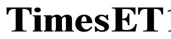 Шрифт TimesET120b